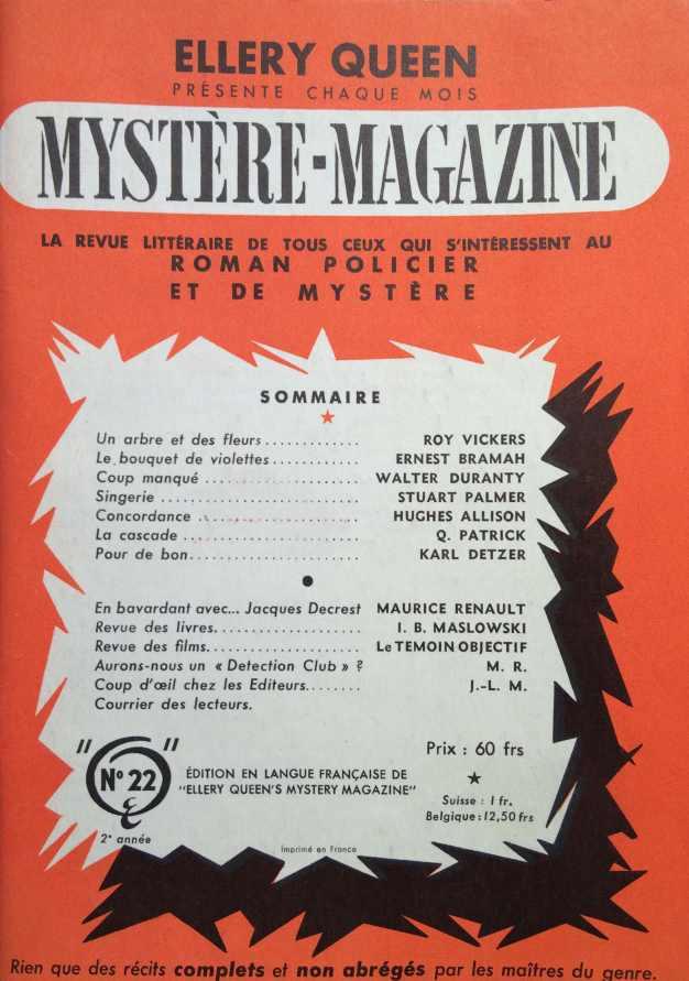 Mystere Magazine n°22