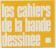 logo cahier bande dessinée
