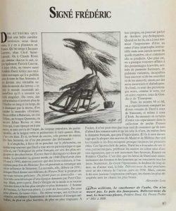 magazine littéraire 255 texte sur Dard