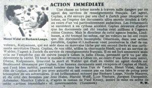 Ciné-Révélation n°158 Action immédiate