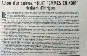 Ciné-Révélation n°174 image haut Huit femmes en noir