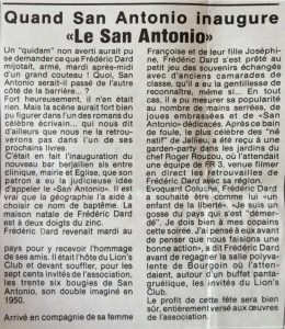 Courrier de Bourgoin-Jallieu 27 juin 1986 article