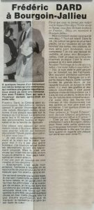 Courrier de Bourgoin-Jallieu 8 janvier 1982 article