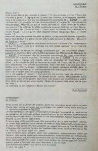 Détective n°1305 texte pub Kaput en back