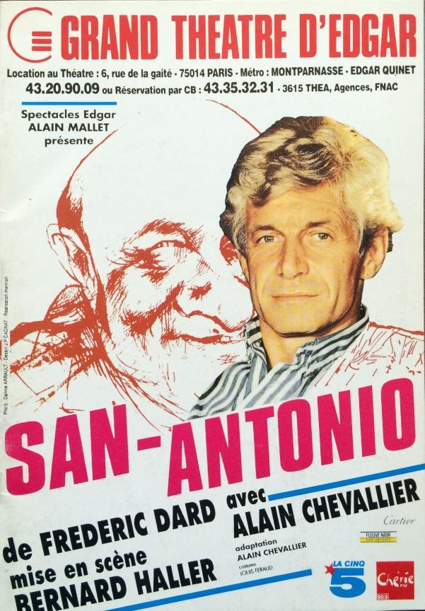 San-Antonio Grand Théâtre d'Edgar