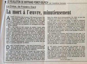 Le Monde 14 juillet 1989 La crève début