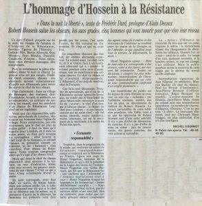 Le Monde 14 octobre 1989 Dans la nuit la liberté