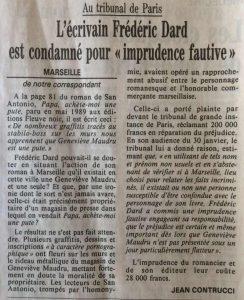 Le Monde 23 février 1991 Maudru
