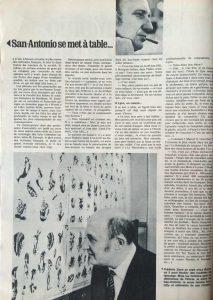 L'illustré n°10 47ème année 9 mars 1967 S.-A. se met à table 2