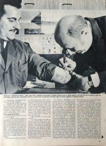 L'illustré n°10 47ème année 9 mars 1967 S.-A. se met à table 3