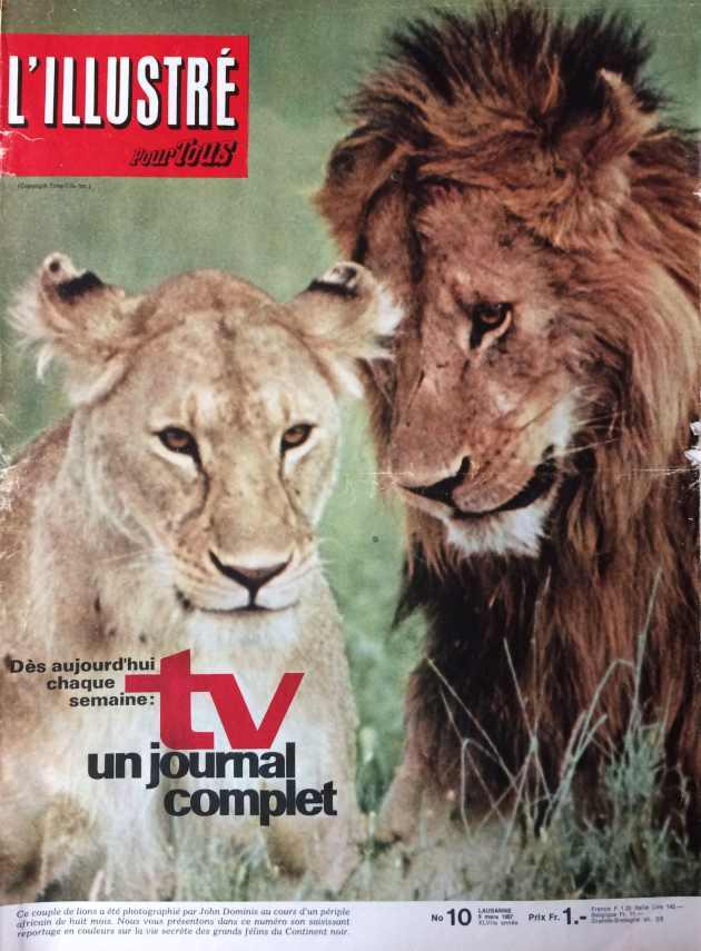 L'illustré n°10 47ème année 9 mars 1967
