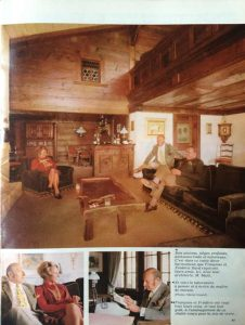 L'illustré n°46 49ème année13 novembre 1969 S.-A. dans ses meubles 2