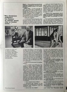 L'illustré n°46 49ème année13 novembre 1969 interview 2