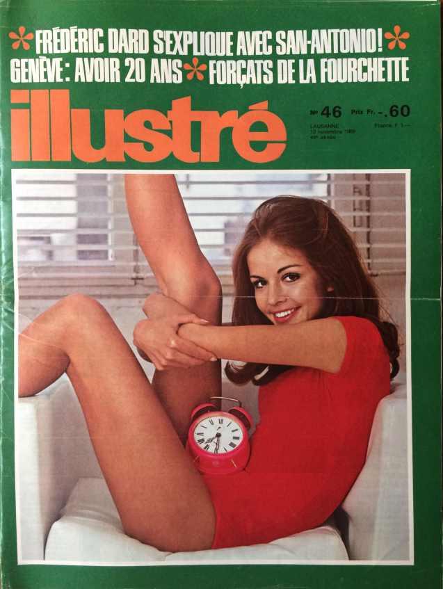 L'illustré n°46 49ème année13 novembre 1969