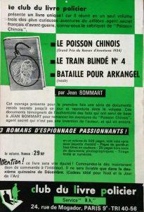 Mystère Magazine n°168 back