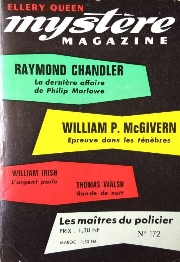Mystère Magazine n°172