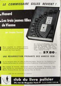 Mystère Magazine n°173 back