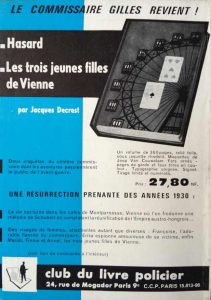 Mystère Magazine n°174 back