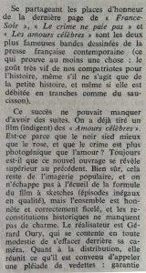 Mystère Magazine n°177 BD le crime ne paie pas