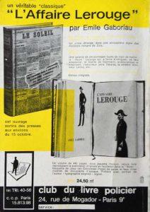 Mystère Magazine n°177 back