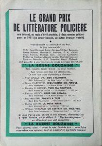 Mystère Magazine n°48 back
