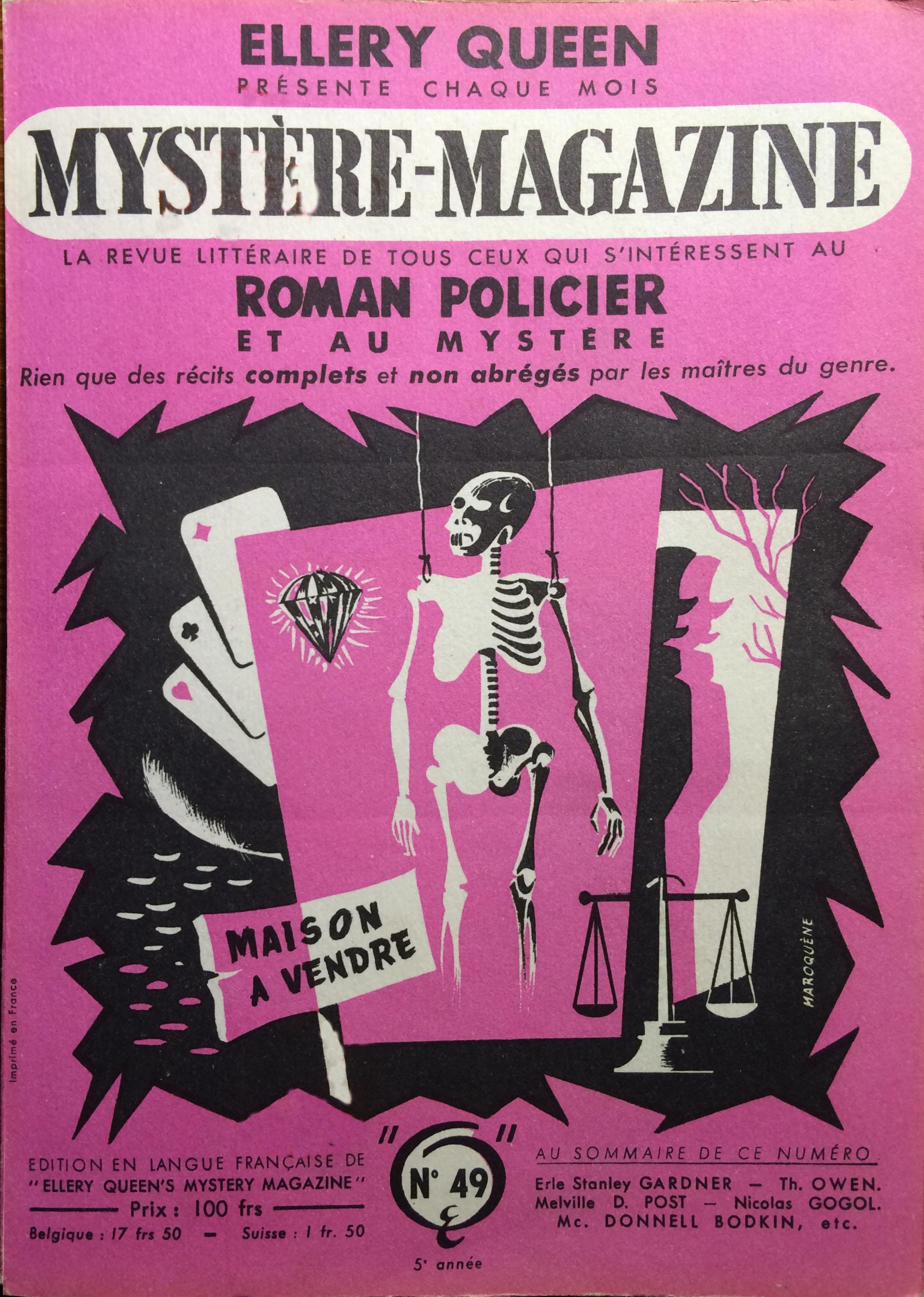 Mystère magazine n°49