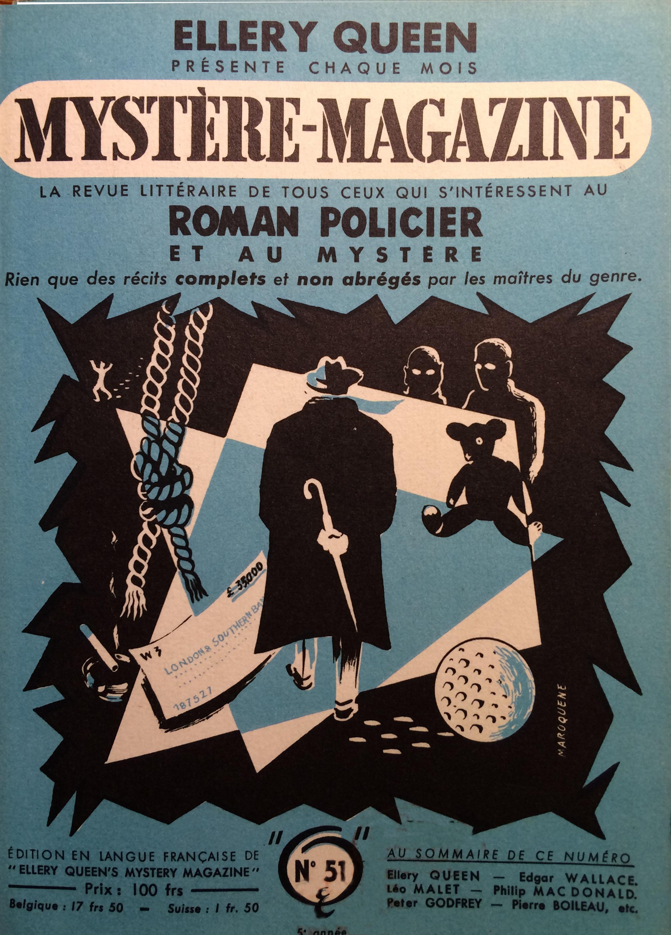 Mystère magazine n°51