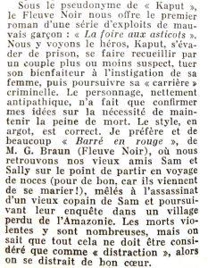 Mystère magazine n°92 la foire aux asticots