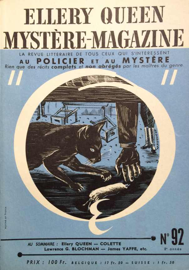 Mystère Magazine n°92