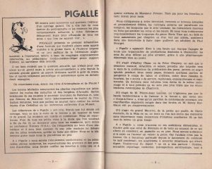 Pigalle n°1 introduction