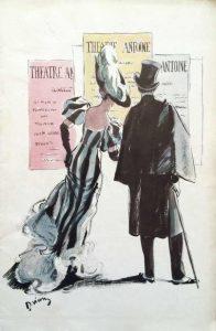 Théâtre Antoine Les 6 hommes en question back