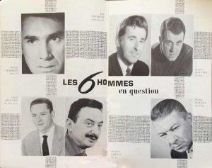 Théâtre Antoine Les 6 hommes en question photos