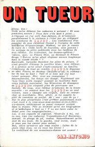 Un tueur Kaput Fleuve Noir 1971 back