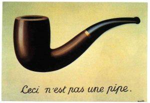 La trahison de l'image de René Magritte