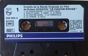 Cassette audio Le caviar rouge Piste 1