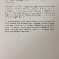 Editions de la Seine septembre 2001back