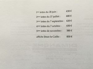Catalogue Garcia n°2 liste de prix