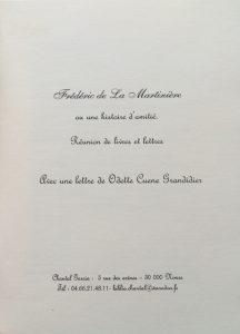 Catalogue Garcia n°1 les lettres et les livres titre
