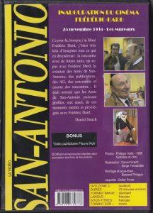 Inauguration du cinéma Frédéric Dard DVD back