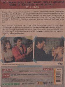 Le mari de Léon DVD back