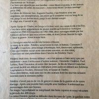 Lettre Odette à Chantal Garcia 2