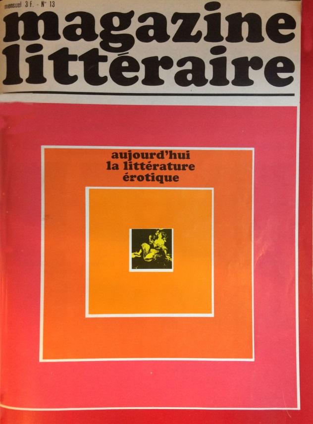 Magazine littéraire n°13