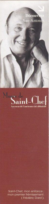 Marque-pages Musée de Saint-Chef
