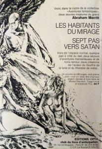 Mystère Magazine n°286 back