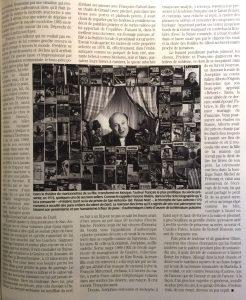 Paris Match n°2665 page entière de texte 2