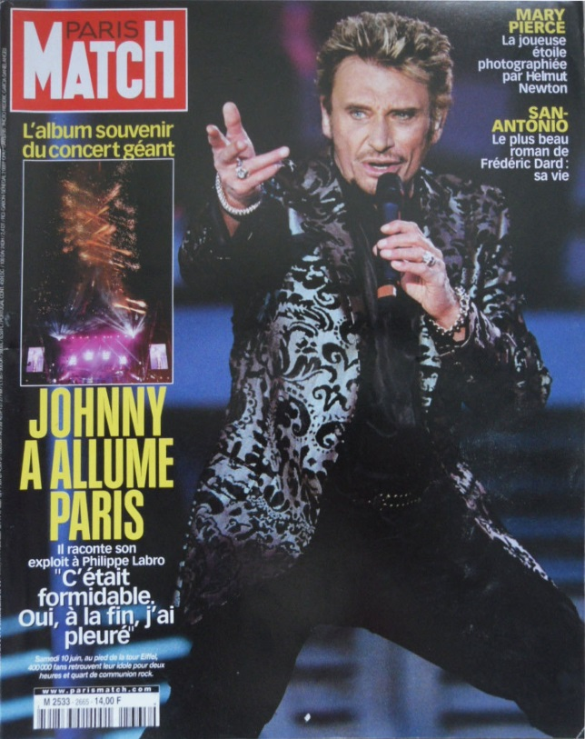 Paris Match n°2665
