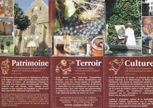 Plaquette 2015 Office tourisme Saint Chef intérieur