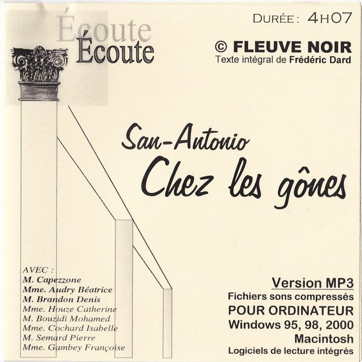san-antonio-chez-les-gones - cd