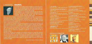CD L'essentiel de Bourvil back