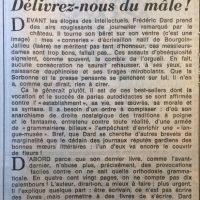 Le Monde 13 novembre 1981 délivrez nous du mal 1